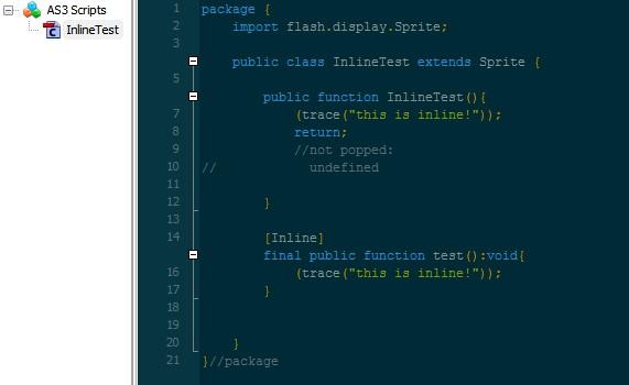 asc2.0让AS可以使用内联函数inline